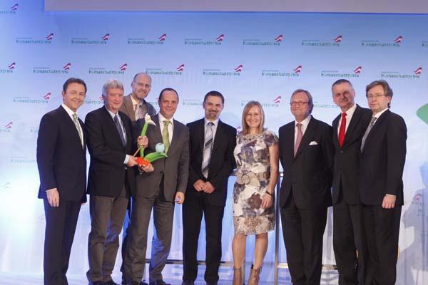 Österreichischer Klimaschutzpreis 2010 (c) Lebensministerium_APA-Fotoservice_Strasser