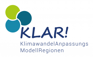 Klimawandel-Anpassungs-Modellregion (KLAR) - Logo