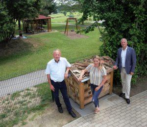 im Garten der Kinderkrippe Flöcking (Ludersdorf-Wilfersdorf)